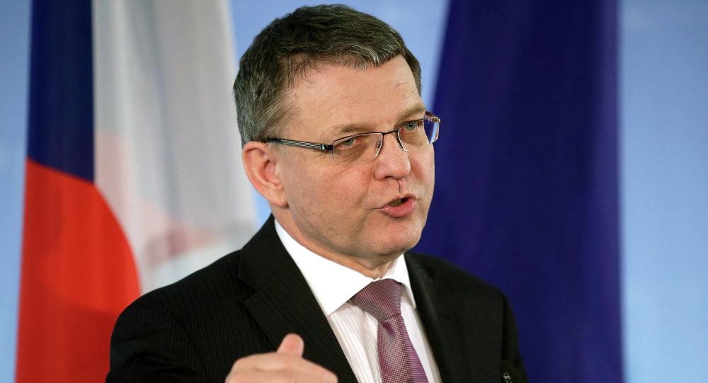 Lubomir Zaoralek, ministre des Affaires étrangères de la République tchèque