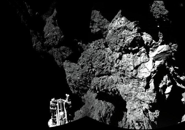 Robot Philae sur la comète 67P