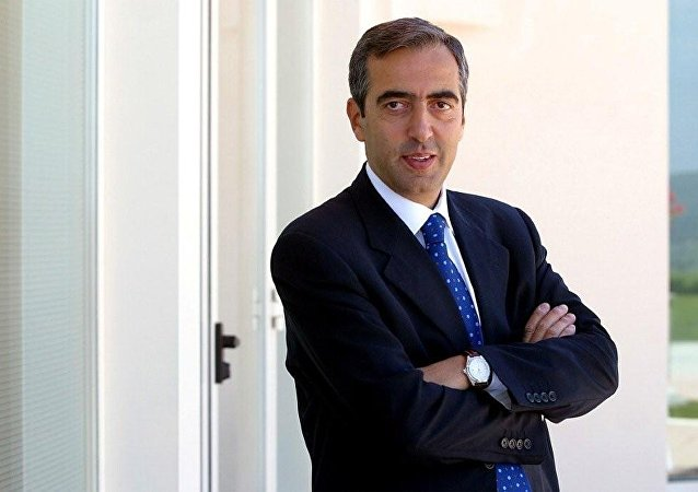 Maurizio Gasparri, vice-président du Sénat de la République italienne