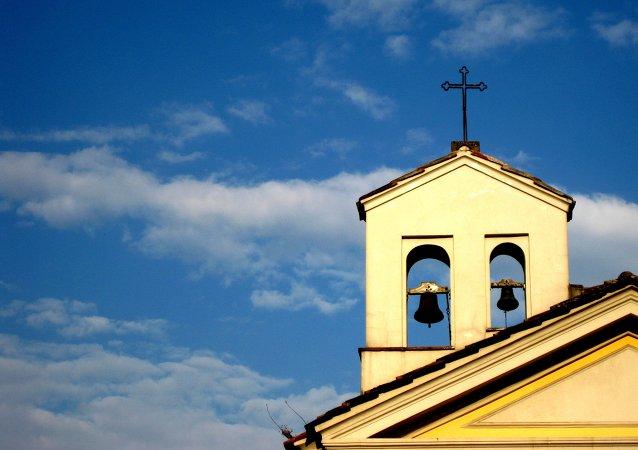 Une église catholique