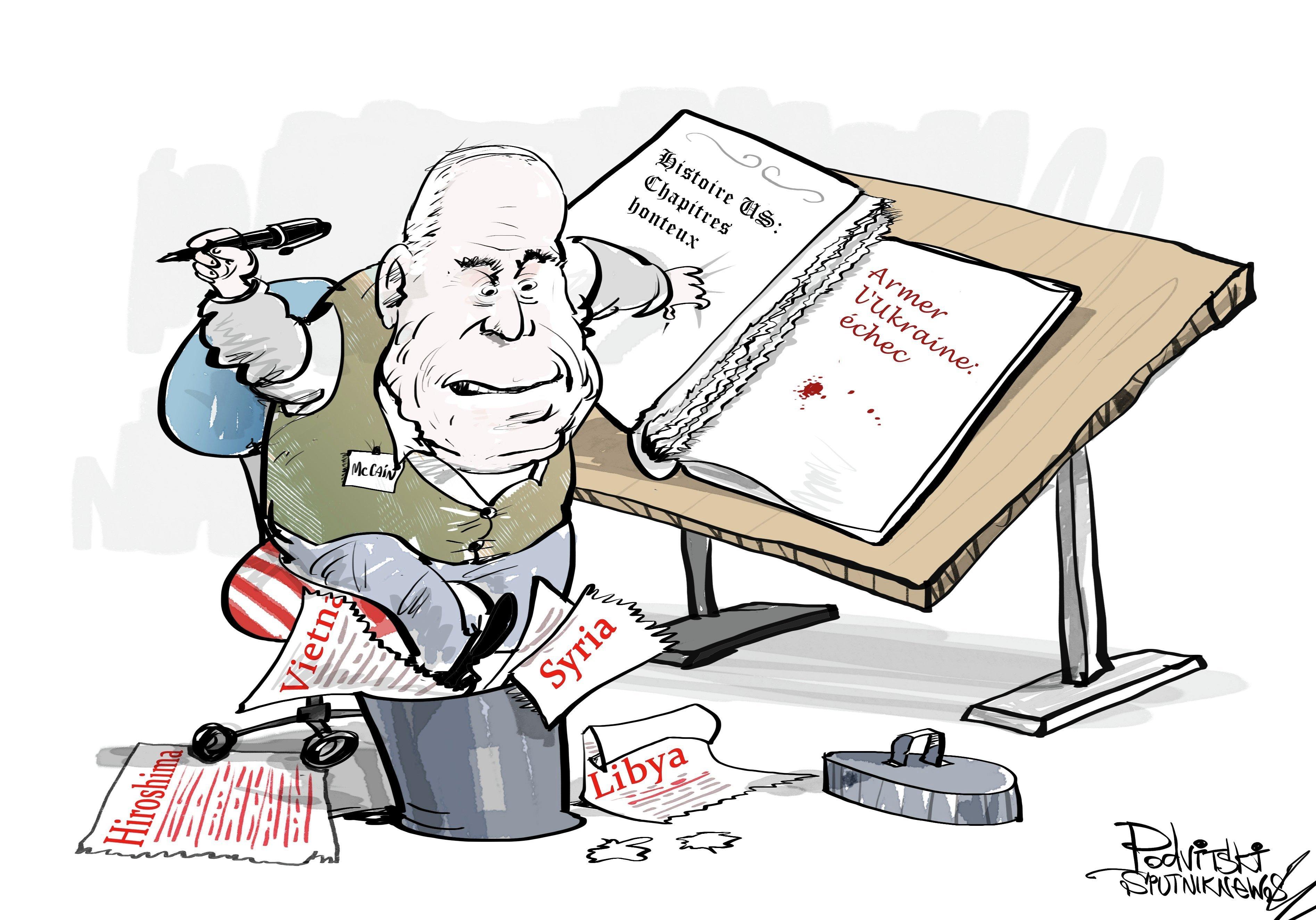 McCain: le refus d'armer Kiev est une honte pour les USA