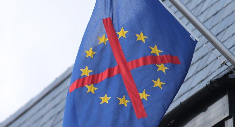 Un drapeau eurosceptique