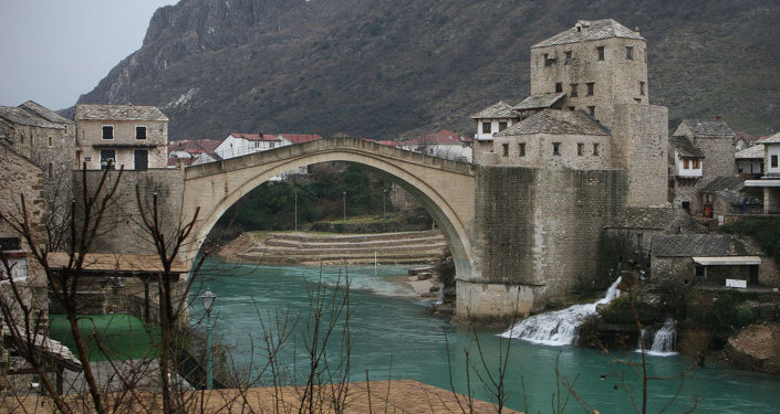 Mostar, en Bosnie-Herzégovine