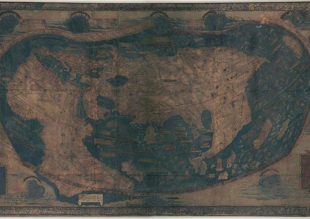 La carte du monde d'Henricus Martellus