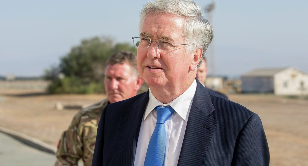 Ministre britannique de la Défense Michael Fallon