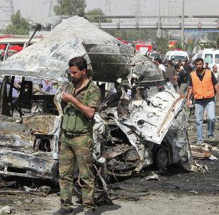 Последствия теракта в Дамаске