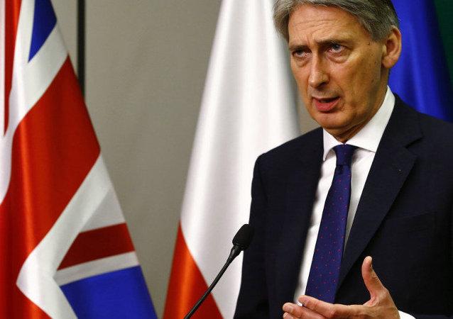 Philip Hammond, chef de la diplomatie britannique