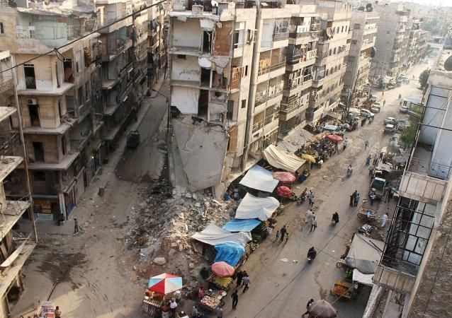 Syrie, Alep, Juin 27, 2015.