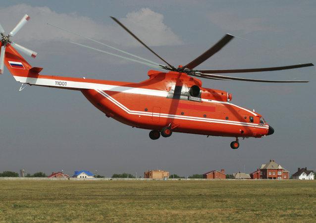 Hélicoptère Mi-26TS