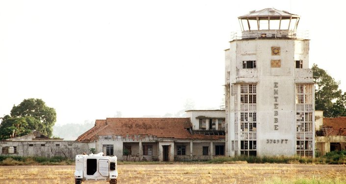 L'aéroport d'Entebbe