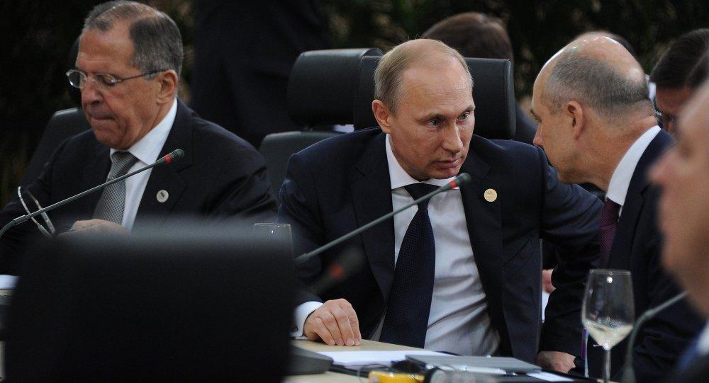 Официальный визит В. Путина в Бразилию. День третий