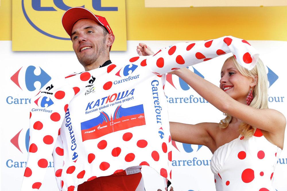 Le coureur espagnol Joaquim Rodriguez