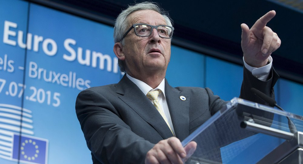 European Commission President Jean Claude Juncker