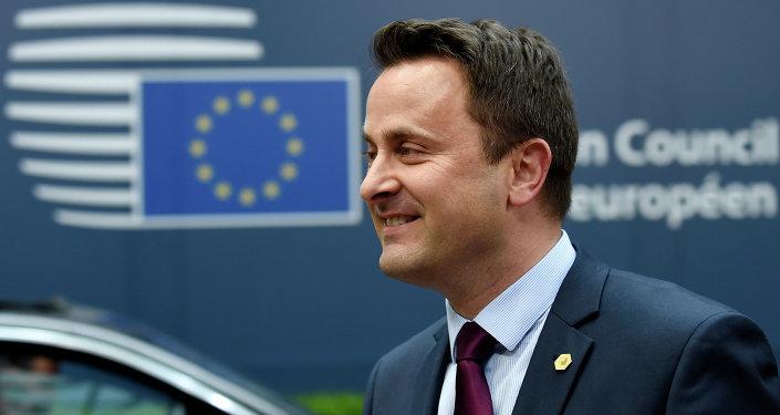 Premier ministre luxembourgeois Xavier Bettel