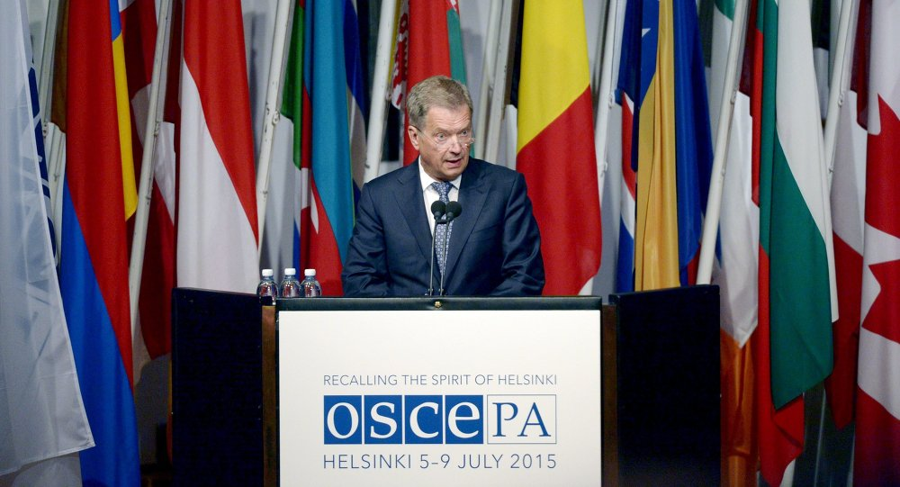 Assembée parlementaire de l'OSCE à Helsinki