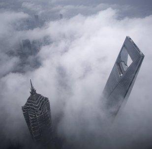 Jin Mao Tower et Shanghai World Financial Center