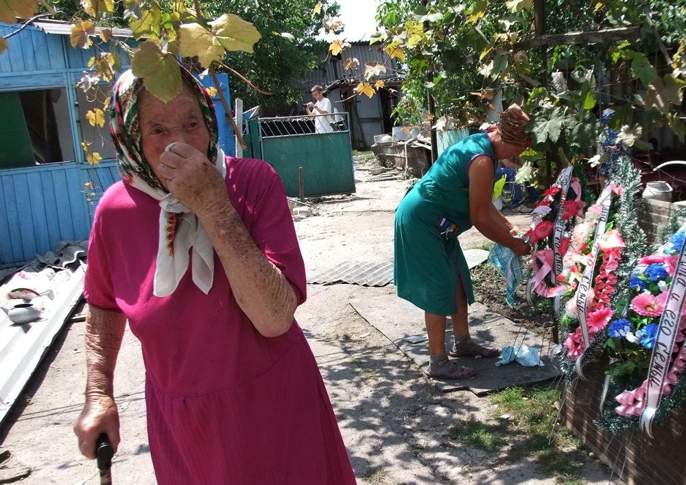 Ukraine: du pain gratuit sous les obus dans la région de Donetsk