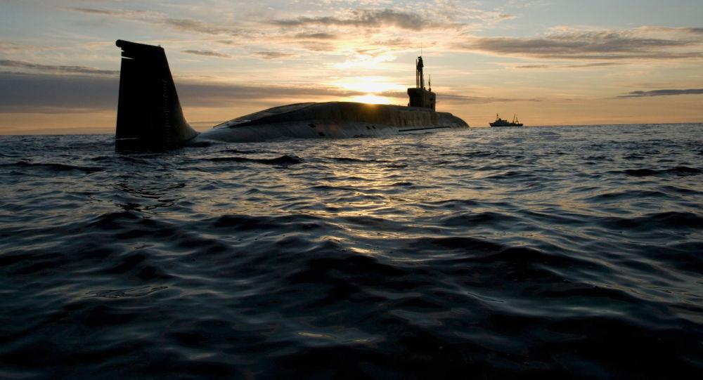 Le sous-marin Iouri Dolgorouki