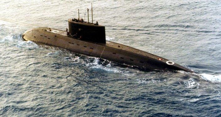 Le sous-marin russe Kilo 636