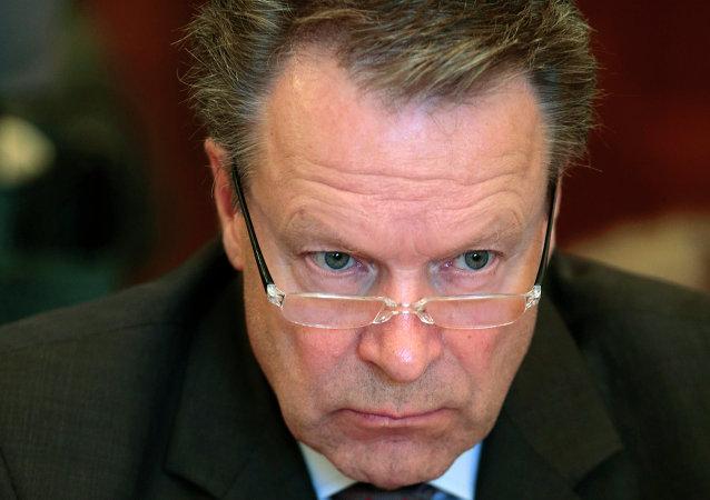 Illka Kanerva, président de l'Assemblée parlementaire de l'OSCE