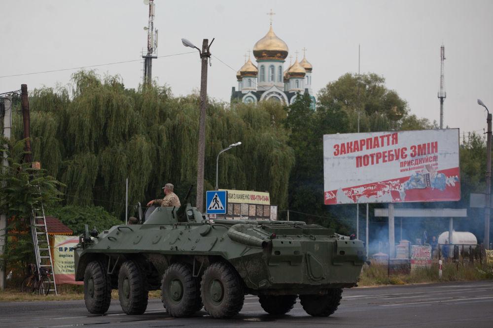 Ukraine: renforcement des mesures de sécurité à Moukatchevo