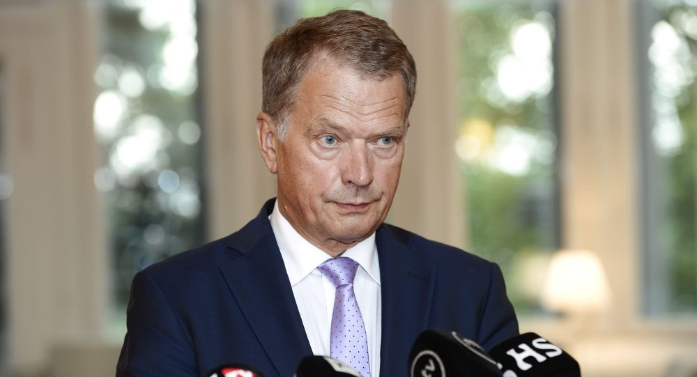 Le président finlandais Sauli Niinistö