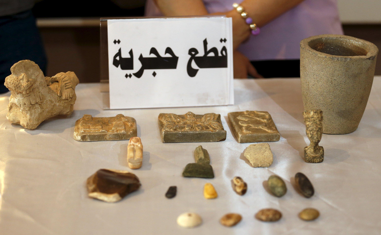 Reliques. Irak