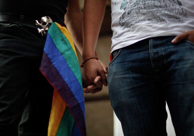 Un couple homosexuel, Archives.