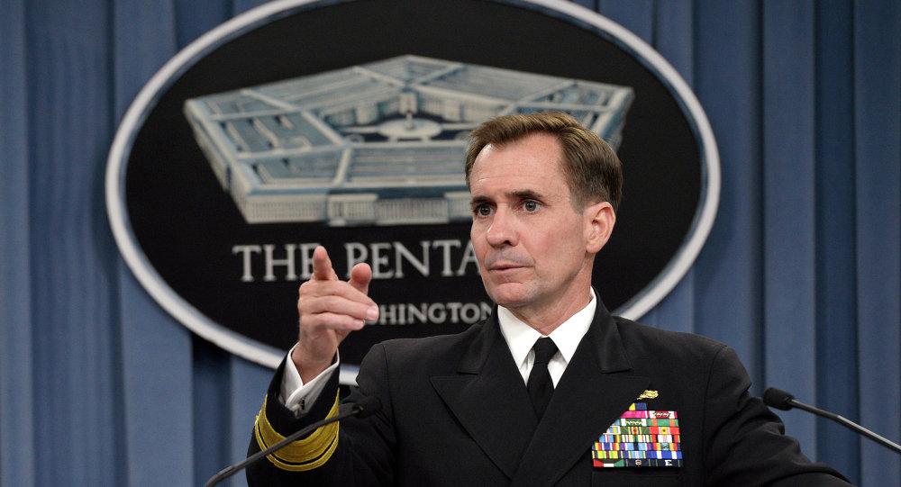 le porte-parole du département d'Etat américain, John Kirby