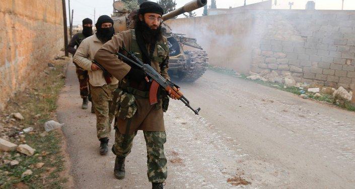 Jihadistes en Syrie