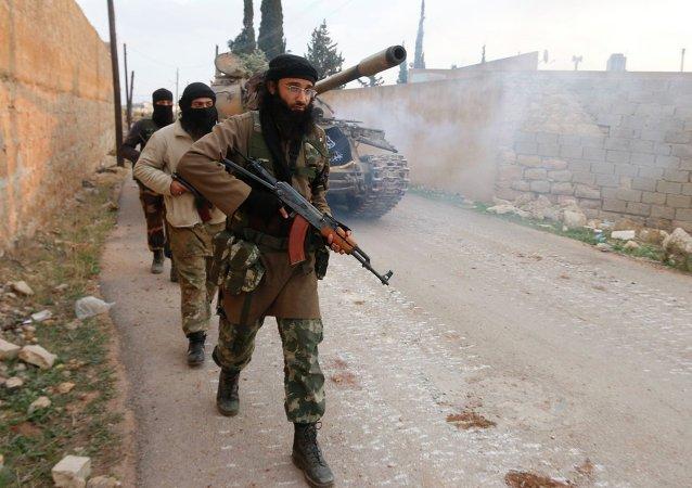 Des djihadistes en Syrie