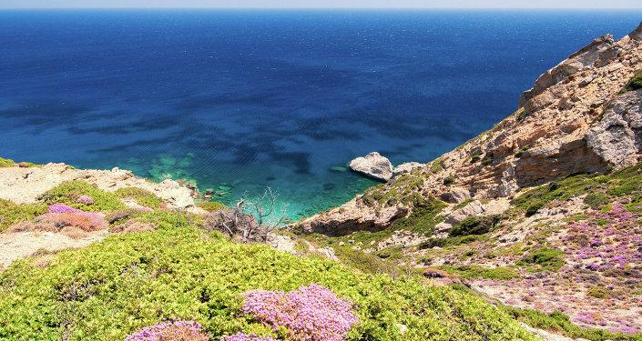 une ile grecque