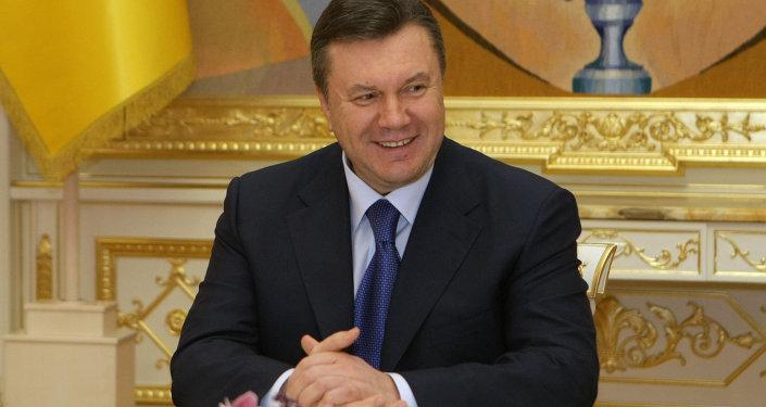 Viktor Ianoukovitch, ex-président ukrainien