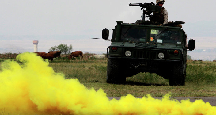 Véchicule militaire US