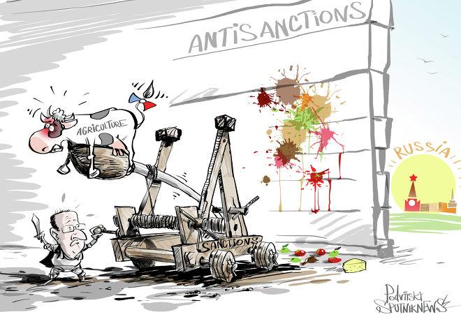 L'agriculture, sacrifiée sur l'autel des sanctions
