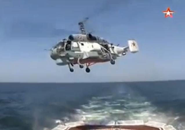 Russie: un exercice en mer d'Okhotsk