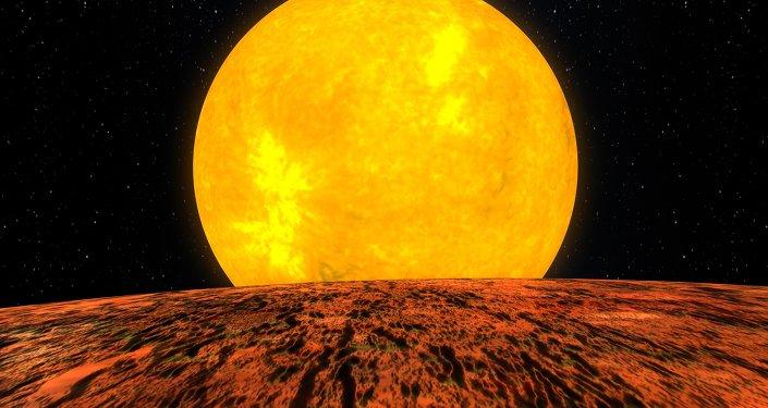 Представление художника о планете Kepler-10b