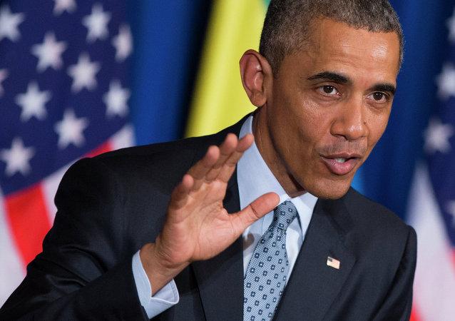 Barack Obama en visite à Addis Abeba