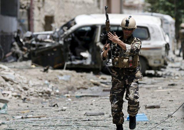 Soldat afghan