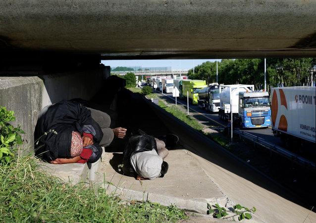 Migrants en France