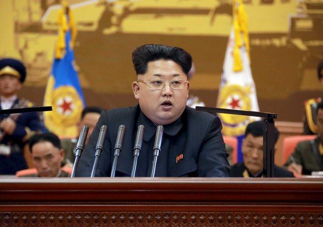 Le leader nord-coréen Kim Jong Un