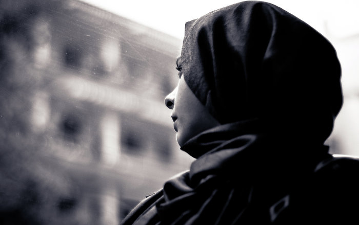 Femme musulmane (image d'illustration)
