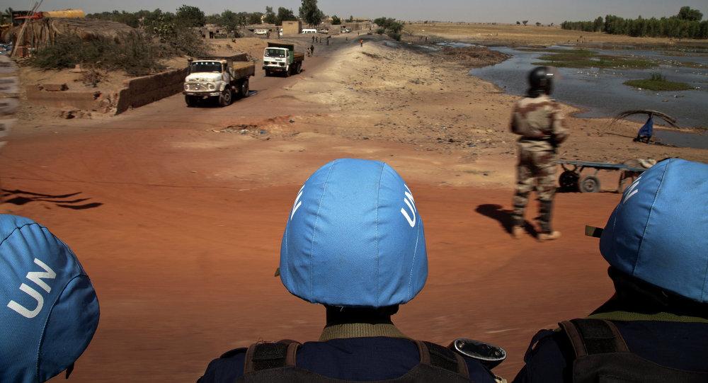 Les casques bleus au Mali