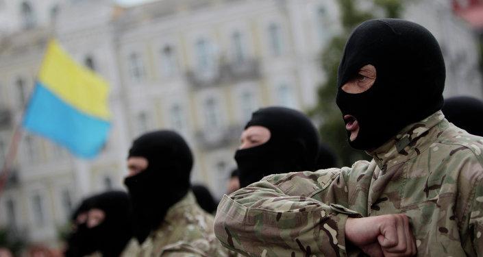 Combattants du bataillon Azov