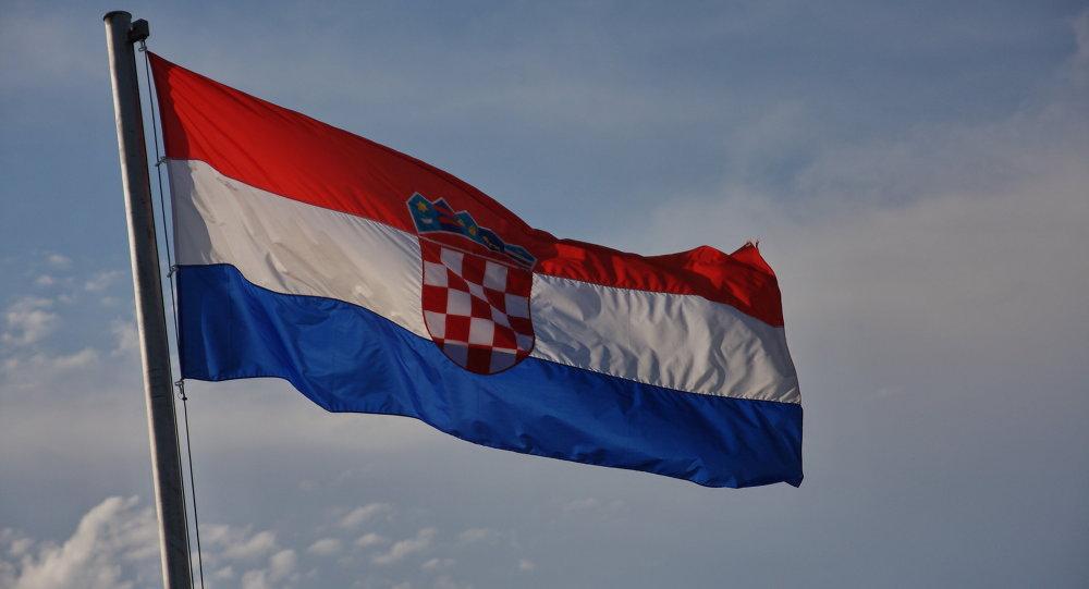 Drapeau de la Croatie