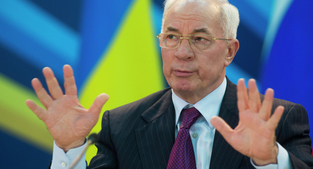 l'ex-premier ministre ukrainien Nikolaï Azarov