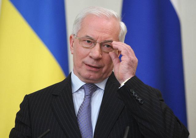 Nikolaï Azarov, ex-premier ministre ukrainien