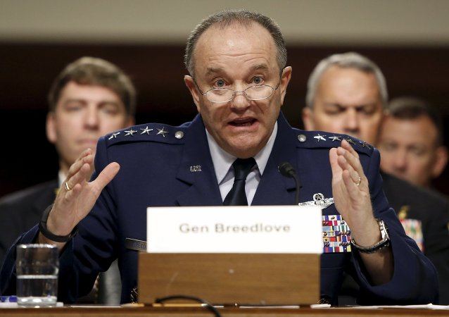 Philip Breedlove, commandant en chef des forces de l'Otan en Europe