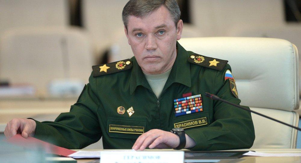 chef d'état-major russe Valeri Guerassimov