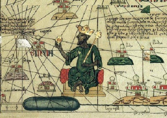 Représentation de Kanga Moussa dans l'Atlas